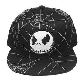 Bioworld Casquette - Disney The Nightmare Before Christmas - Jack Skellington Design Toile d'Araignée