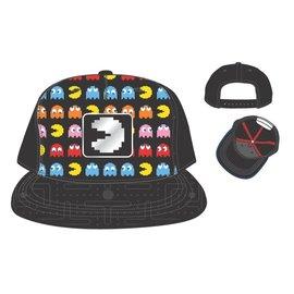 Bioworld Casquette - Bandai Namco - Pac Man et les Fantômes avec Logo Réfléchissant Snapback