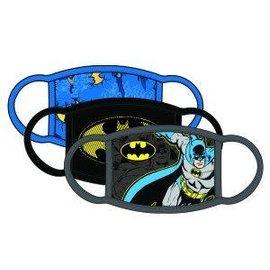 Bioworld Masque - DC Comics - Batman Classique Couvre-Visage Paquet de 3 *Liquidation*