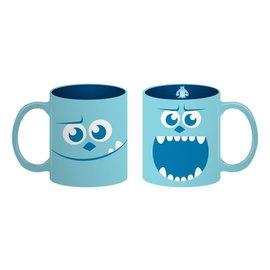 Vandor Mug - Disney Pixar Monster Inc - Sully Recto-Verso Blue 16oz