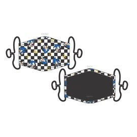 Bioworld Face Mask - Sonic The Hedgehog - Checkered Black and White Face Cover