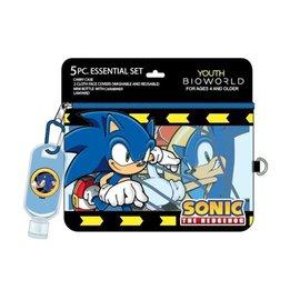 Bioworld Masque - Sonic The Hedgehog - Trousse Essentielle de 5 Pièces*Liquidation*