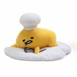 "Gund Peluche - Sanrio Gudetama - Chef de Cuisine Paresseux 6"""
