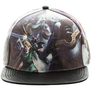 Bioworld Casquette - Nintendo The Legend of Zelda - Twilight Princess En Faux Cuir Snapback