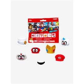 Just Toys Sac mystère - Nintendo Super Mario Odyssey - Mascottes Chapeau Mystère