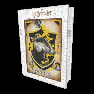 Prime3D Casse-tête - Harry Potter - Maison Poufsouffle 3D 300 Pièces dans une Boîte en Métal