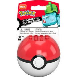 MEGA Brand Figurine - Pokémon - Mega Construx Bulbasaur avec Poké Ball 1ère Génération