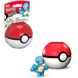 MEGA Brand Figurine - Pokémon - Mega Construx Squirtle avec Poké Ball 1ère Génération