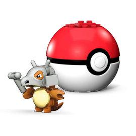 MEGA Brand Figurine - Pokémon - Mega Construx Cubone avec Poké Ball 1ère Génération