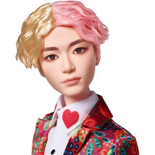 Mattel Figurine - BTS - V Fashion Doll Poupée de Collection 10""