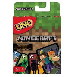 Mattel Jeu de société - Minecraft - Uno: Minecraft