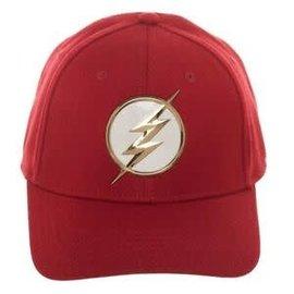 Bioworld Baseball Cap - DC Comics The Flash - Logo White and Golden Red