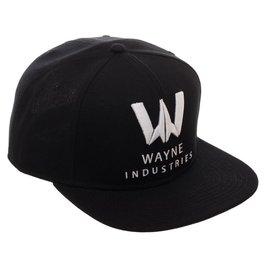 Bioworld Baseball Cap - DC Comics Wayne Industries - Logo Black Snapback