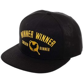 Bioworld Baseball Cap  - PUBG - Winner Winner Chicken Dinner Black Snapback
