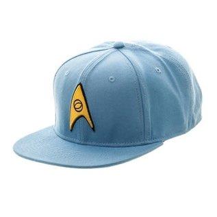 Bioworld Casquette - Star Trek - Bleu Avec Logo des Ingénieurs Snapback