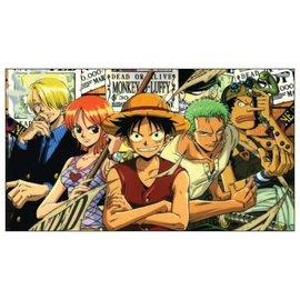 Chez Rhox Magnet - One Piece - Luffy, Zoro, Nami, Sanji and Usopp