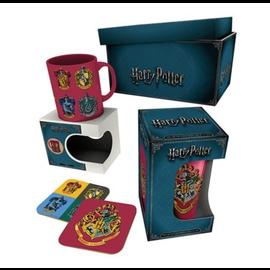 GB eye Tasse - Harry Potter - Ensemble Cadeau avec Tasse, Verre et 2 Sous-Verres