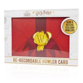 Wow! Stuff Collectionnable - Harry Potter - Carte Beuglante Re-enregistrante