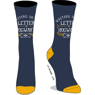 Bioworld Chaussettes - Harry Potter - Waiting on my Letter to Hogwarts 1 Paire Crew