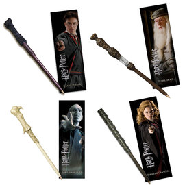 Noble Collection Pen - Harry Potter - Wand-Pen and Bookmark
