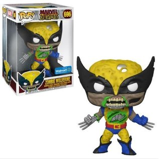 "Funko Funko Pop! Heroes - Marvel Zombies - Zombie Wolverine 696 10"" *Walmart Exclusive*"