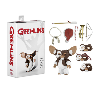 "NECA Figurine - Gremlins - Gizmo Articulé Avec Pièces Interchangeable 7"""
