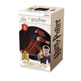Hero Collector Socks - Harry Potter - Knitting Kit for Gryffindor House Slouch Socks and Mittens