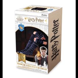 Hero Collector Chaussettes - Harry Potter - Ensemble pour Tricoter Bas Longs et Mitaines de Serdaigle