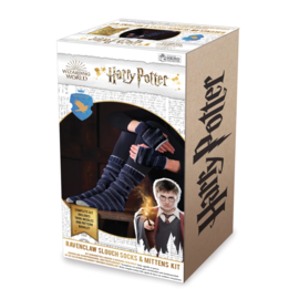 Hero Collector Socks - Harry Potter - Knitting Kit for Ravenclaw House Slouch Socks and Mittens