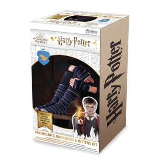 Hero Collector Chaussettes - Harry Potter - Ensemble pour Tricoter Bas Longs et Mitaines de Serdaigle