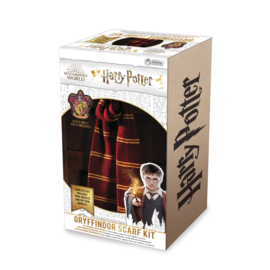 Hero Collector Scarf - Harry Potter - Knitting Kit for Gryffindor House Scarf