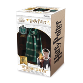 Hero Collector Scarf - Harry Potter - Knitting Kit for Slytherin House Scarf