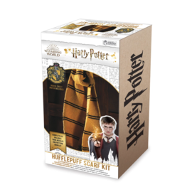 Hero Collector Scarf - Harry Potter - Knitting Kit for Hufflepuff House Scarf