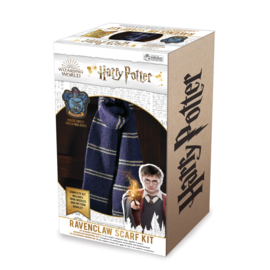 Hero Collector Scarf - Harry Potter - Knitting Kit for Ravenclaw House Scarf