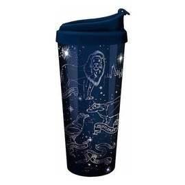 Spoontiques Travel Glass - Harry Potter - Silver Constellations Blue 18oz