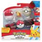 Wicked Cool Toys Figurine - Pokémon - Ensemble pour ceinture Clip 'n' go Growlithe , Poké Ball et Timer Ball