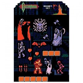 Dark Horse Aimant - Castlevania - 8-bit Ensemble en Feuille Aimantée
