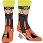 Bioworld Chaussettes - Naruto Shippuden - Naruto Uzumaki 1 Paire Crew