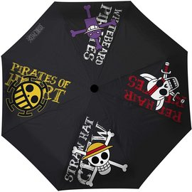 AbysSTyle Umbrella - One Piece - Pirates Emblems Black