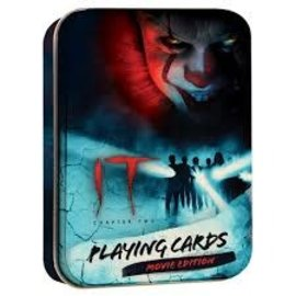 The OP Games Jeu de cartes - IT Chapter Two -  Edition Films avec Boîte en Métal