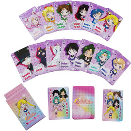 Usaopoly Playing Cards - Sailor Moon - Chibi Sailor Moon