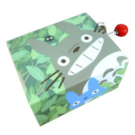 Sekiguchi Boite à musique - Studio Ghibli Mon Voisin Totoro - Totoro, Chu, Chibi et Noiraude Manuelle