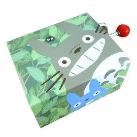 Sekiguchi Music Box - Studio Ghibli My Neighbour Totoro - Totoro, Chu, Chibi and Soot Sprites Manual
