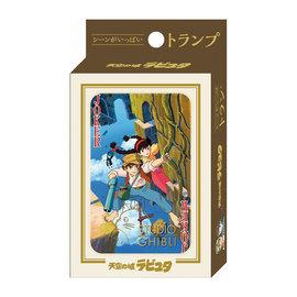 Ensky Studio Jeu de cartes - Studio Ghibli Le Château dans le Ciel - Sheeta et Pazu