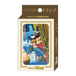 Ensky Studio Playing Cards - Studio Ghibli Castle in the Sky - Sheeta and Pazu