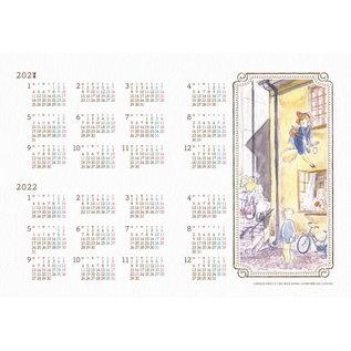 Agenda 2021 - Studio Ghibli Kiki la Petite Sorcière - Jiji qui Tire la Langue Agenda 2021 au Mois et à la Semaine