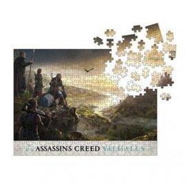 Dark Horse Puzzle - Assassin's Creed Valhalla - Raid Planning 1000 pieces