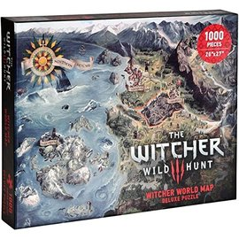 Dark Horse Casse-tête - The Witcher 3 Wild Hunt - Carte du Monde Deluxe 1000 pièces