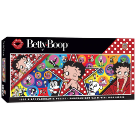Master Pieces Puzzle Co Puzzle - Betty Boop - Panoramic 1000 pieces