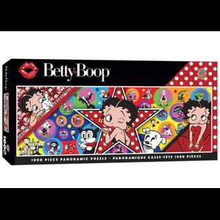 Master Pieces Puzzle Co Casse-tête - Betty Boop - Collage Panoramique 1000 pièces